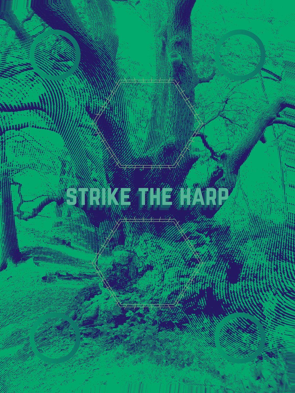 Strike the harp - track artwork